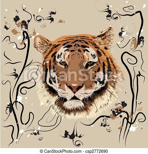Bengal tiger - csp2772690