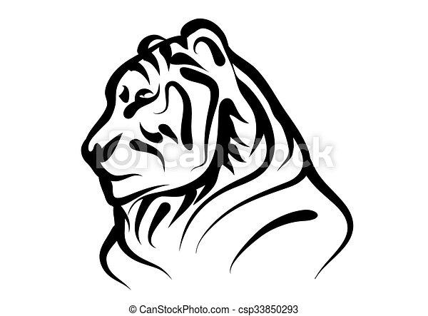 bengal tiger - csp33850293