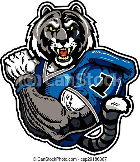 bengal tiger football player - csp29186367