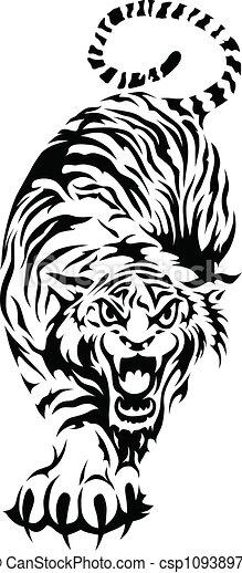Bengal Tiger - csp10938971