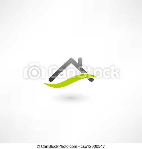 bens imóveis, ícone - csp12000547