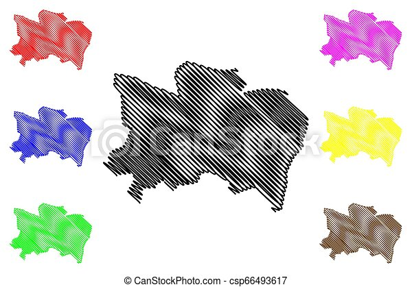 Benue State map - csp66493617