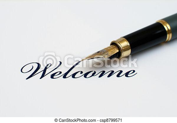 benvenuto - csp8799571