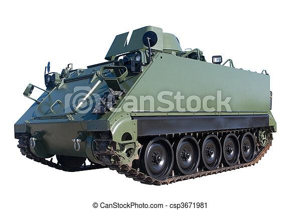 bepansrad fordon - csp3671981