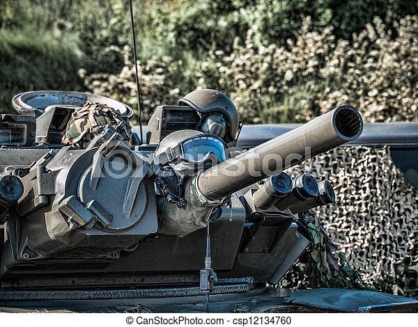 bepansrad fordon - csp12134760