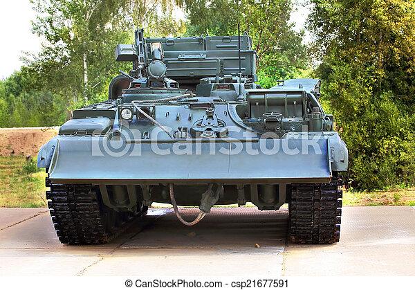 bepansrad fordon - csp21677591