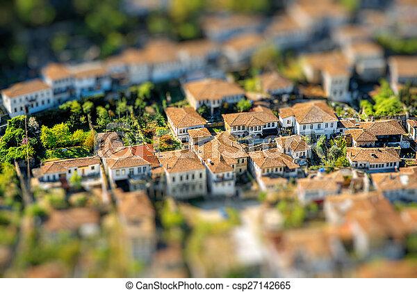 Berat city - csp27142665