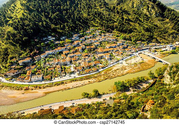 Berat city - csp27142745