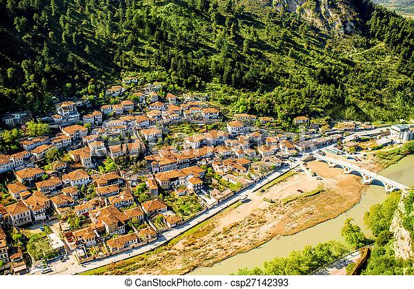 Berat city - csp27142393