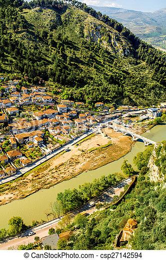Berat city - csp27142594