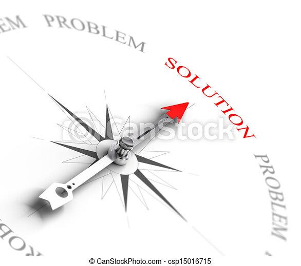 beraten, geschaeftswelt, lösen, -, loesung, vs, problem - csp15016715