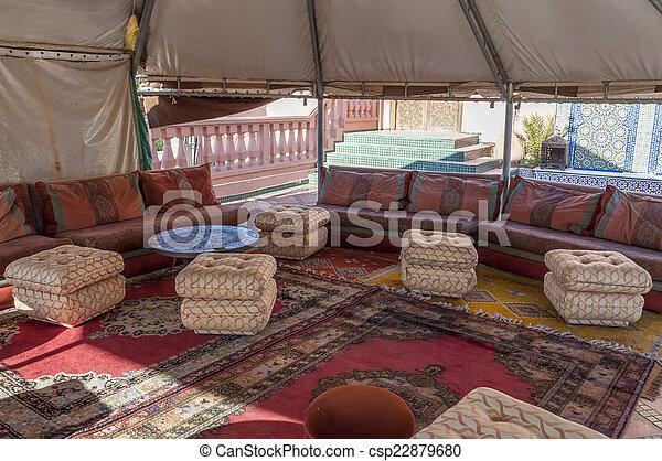 Marokkanische Inneneinrichtung | Berber Traditionelle Inneneinrichtung Zelt Marokko