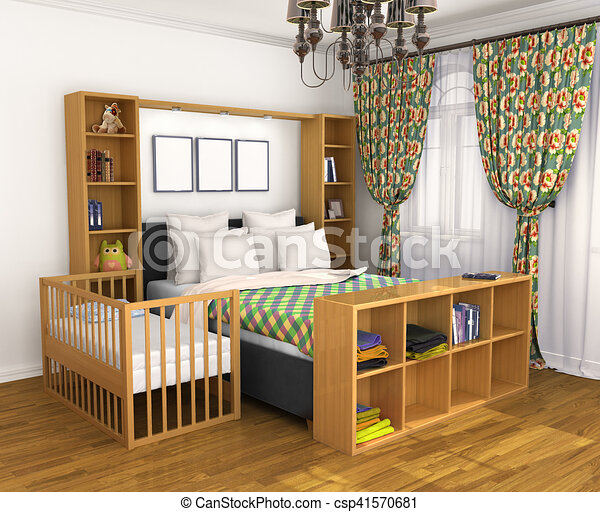 Best bebe chambre des parents contemporary design trends - Amenager un coin bebe dans la chambre des parents ...