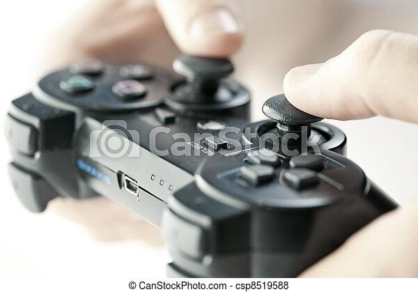 bereiter controller, hände - csp8519588