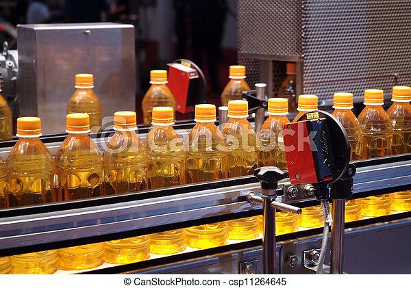 berendezés, folyékony, iparág, töltelék, csomagolás, gépek - csp11264645