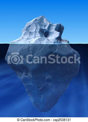 berg, ijs - csp2538131