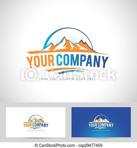 Mountain-Logo - csp29477459