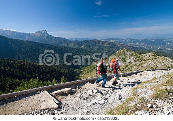 berge, trecken - csp2133035