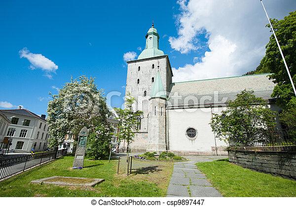 Bergen city - csp9897447