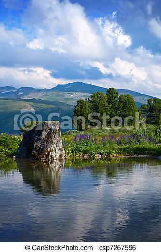 bergen, meer - csp7267596
