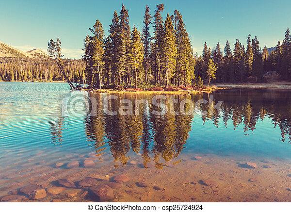 bergen, meer - csp25724924