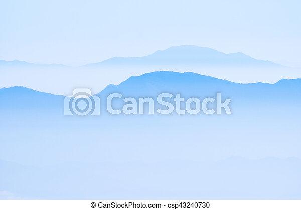 bergen, mist - csp43240730