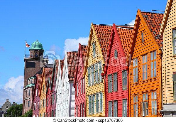 Bergen, Norway - csp16787366