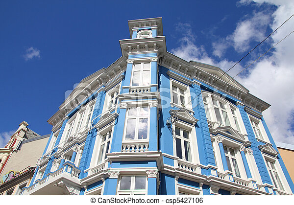 Bergen, Norway - csp5427106