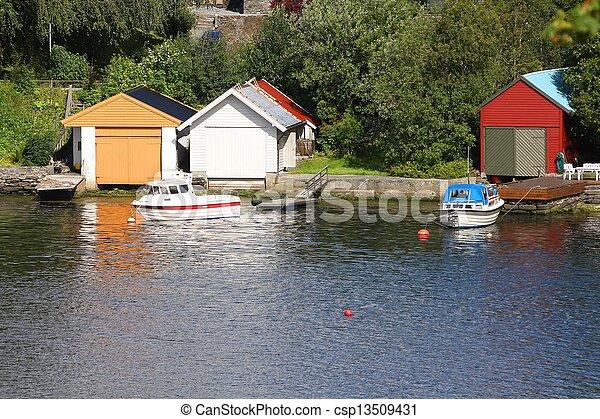 Bergen, Norway - csp13509431
