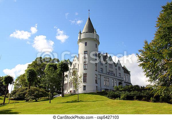 Bergen, Norway - csp5427103