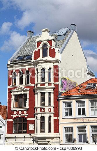 Bergen, Norway - csp7886993