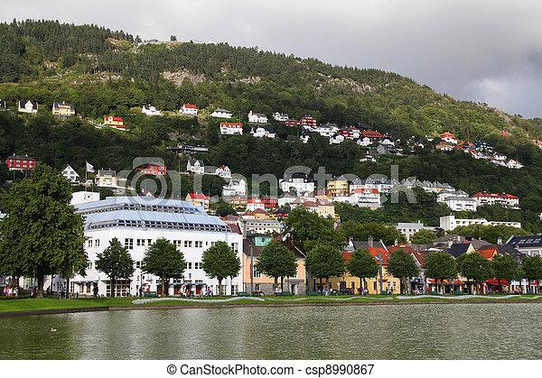 Bergen - csp8990867