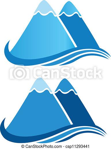 bergen, vector, logo - csp11293441