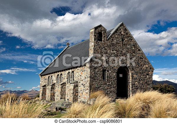berger, bon, église - csp9086801