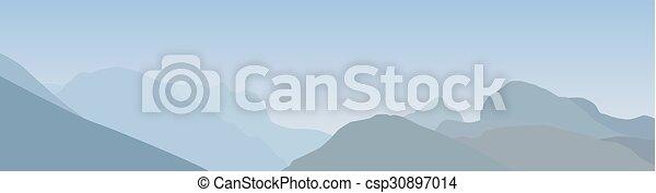 bergkette - csp30897014