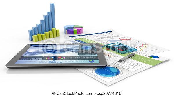 Finanzbericht - csp20774816