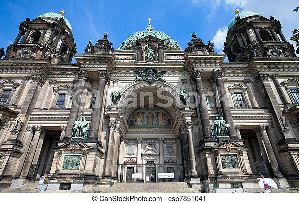 Berlin Cathedral (Berliner Dom), Berlin, Germany - csp7851041