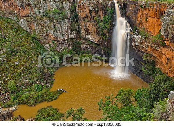 Berlin falls, South Africa - csp13058085