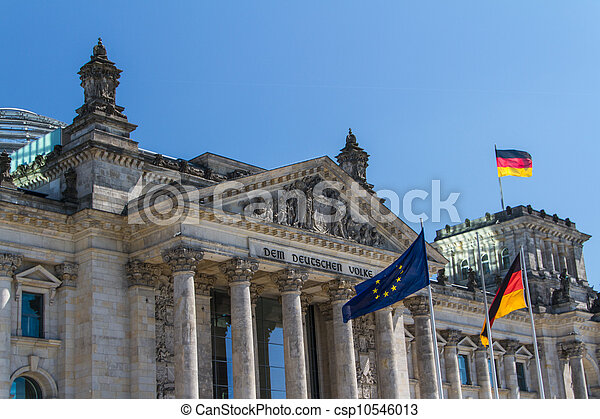 Berlin Government District - csp10546013