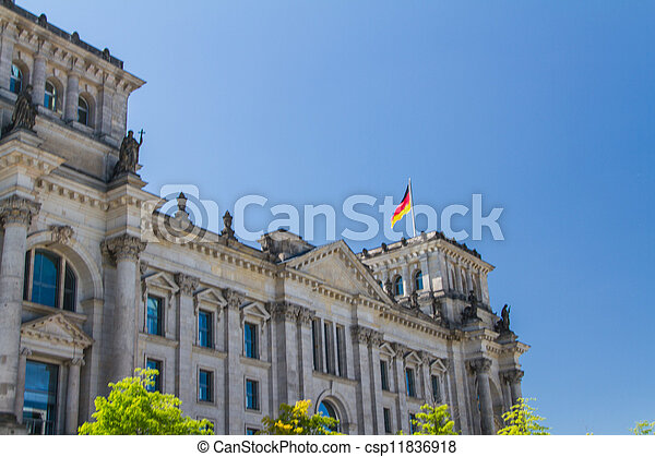 Berlin Government District - csp11836918