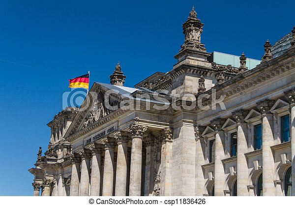 Berlin Government District - csp11836426
