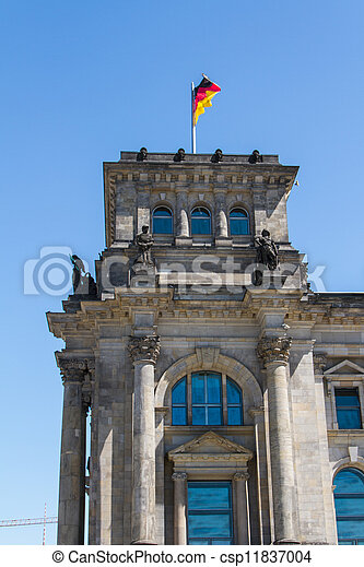 Berlin Government District - csp11837004