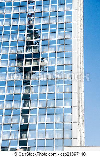 Berlin TV tower  - csp21897110