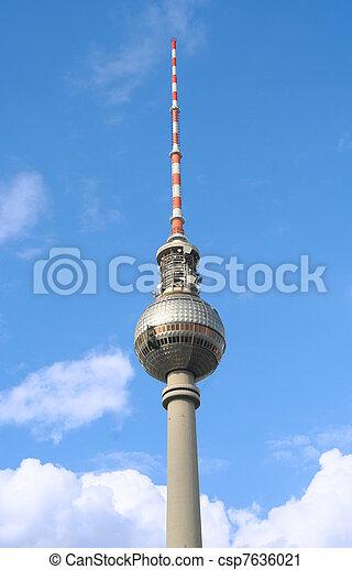 Berlin TV Tower - csp7636021