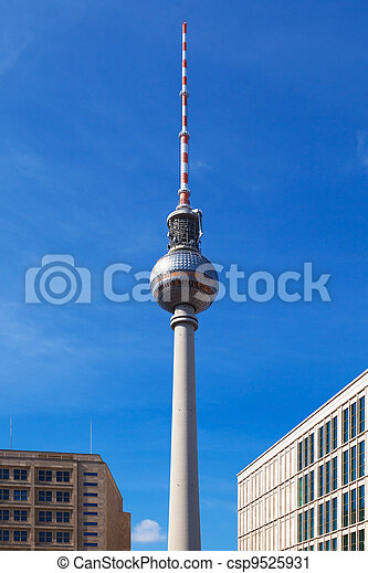 Berlin TV Tower - csp9525931