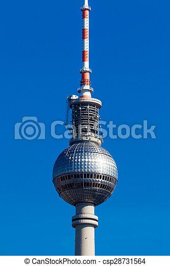 Berlin TV tower - csp28731564
