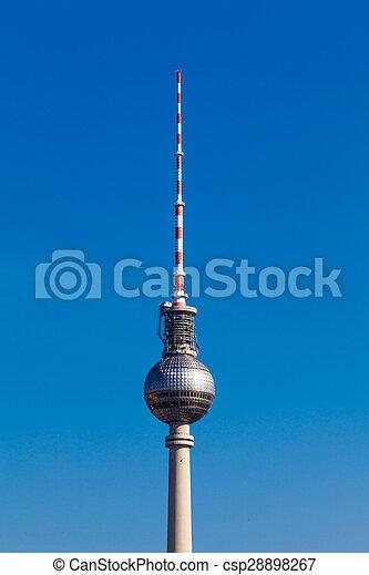 Berlin TV tower - csp28898267
