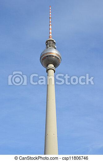 Berlin TV tower - csp11806746
