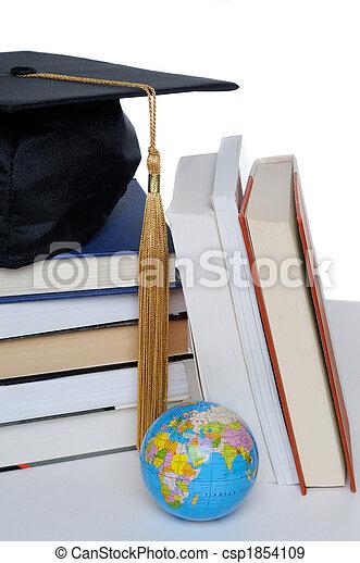 berretto, graduazione - csp1854109