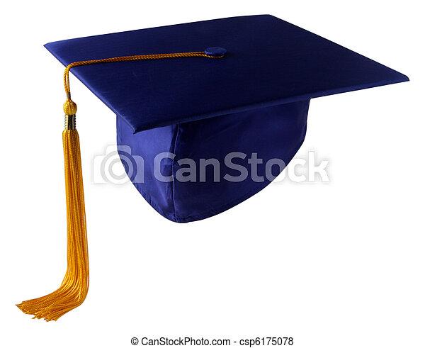 berretto, graduazione - csp6175078